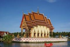 Wat Plai Laem Royalty-vrije Stock Foto's