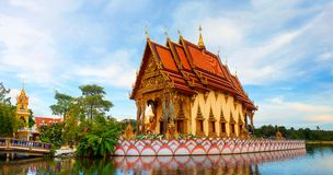Wat Plai Laem. Buddhistic temple on Koh Samui, Thailand Stock Image
