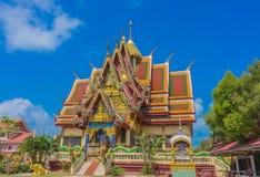 Wat Plai Laem-Tempel KOH samui, Thailand Stockbilder