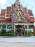 Wat Plai Laem Temple stock images