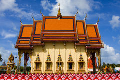 Wat Plai Laem temple Samui Stock Photos