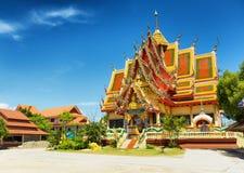 Wat Plai Laem temple in Samui Island, Thailand stock photos