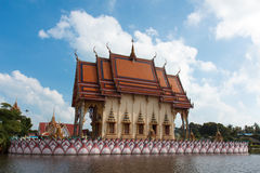 Wat Plai Laem in Thailand Stock Images