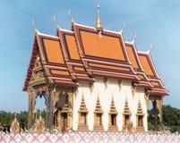 Wat Plai Laem Thailand sightseeing Royalty Free Stock Photo
