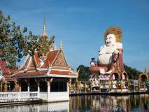 Wat Plai Laem Thailand sightseeing Stock Photos