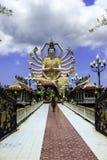 Wat Plai leam temple in Koh Samui Stock Image