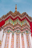 Wat Po ο ναός της παγόδας της Ταϊλάνδης Στοκ Εικόνες