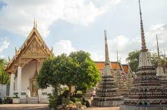 Wat Po, ο ναός του ξαπλώνοντας Βούδα, Μπανγκόκ, thailandia-2 Στοκ εικόνες με δικαίωμα ελεύθερης χρήσης