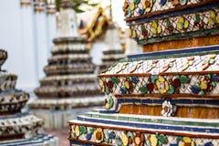 Wat Po, ο ναός του ξαπλώνοντας Βούδα, Μπανγκόκ, thailandia-3 Στοκ Εικόνες
