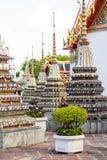 Wat Po, ο ναός του ξαπλώνοντας Βούδα, Μπανγκόκ, Thailandia Στοκ εικόνα με δικαίωμα ελεύθερης χρήσης