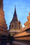 In Wat Po, Bangkok. Thailand royalty free stock photos