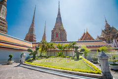 WAT PO Bangkok. The most famous temple in Thailand Stock Photo