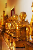 wat po buddhas стоковые изображения