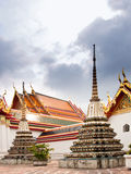 Wat Po Chedi. Some of the many chedi at the Wat Po temple in Bangkok, Thailand Royalty Free Stock Photography