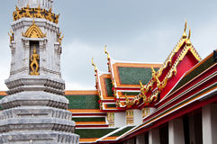 Wat Po Temple. The Wat Po Temple in Bangkok, Thailand Royalty Free Stock Photos