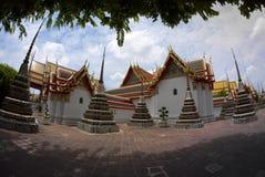 Wat Po The Temple av den Thailand pagoden Arkivbilder