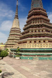 Wat Po temple in Bangkok Royalty Free Stock Photos