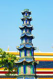 Wat Po Temple Fragment Stock Image