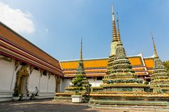 Wat Po Temple Royalty Free Stock Images