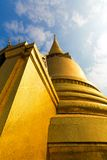 Wat Po Temple roof Royalty Free Stock Image