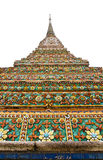 Wat Po The Temple of Thailand pagoda Stock Images
