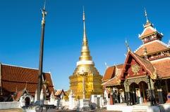 Wat Pong Sanook lampang Thailand stock foto's