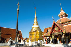 Wat Pong Sanook lampang Thailand Stock Photos