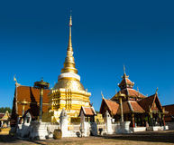 Wat Pong Sanook Northern Thailand Stock Photo