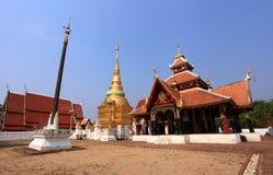 Wat Pong Sanook Nua. Royalty-vrije Stock Foto