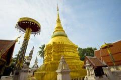 Wat Pong Sanook Tai Royalty-vrije Stock Foto's