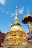 Wat Pong Sanook Tai Fotos de Stock