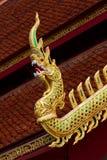 Wat Pong Sanuk.in lampang Stock Photography