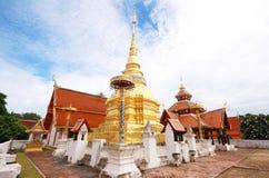 Wat Pong Sanuk, Lumpang, Tailandia fotografia stock