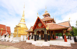 Wat Pong Sanuk, Lumpang, Tailandia Fotografie Stock