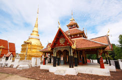 Wat Pong Sanuk, Lumpang, Tailandia immagine stock