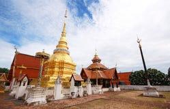 Wat Pong Sanuk, Lumpang, Tailandia fotografia stock libera da diritti