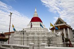 Wat Poramaiyikawas temple, Pak kret, Nonthaburi Royalty Free Stock Photo