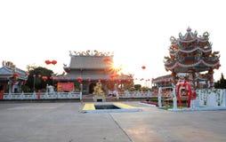 Wat porslin i Thailand royaltyfria bilder