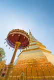 Wat Pra That Chae Haeng, Nan province Stock Images