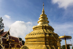 Wat Pra That Chomthong vora vihan , Chiangmai Thailand Royalty Free Stock Photos