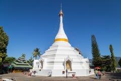 Wat Pra那doi kong mu 免版税库存照片