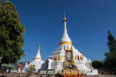 Wat Pra那doi kong mu 库存照片