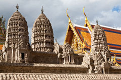 Wat Pra Kaeo Land, Bangkok Thailand Royalty Free Stock Images