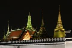 Wat pra kaew公开寺庙盛大宫殿,曼谷泰国 库存图片