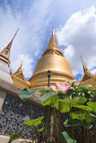 Wat pra kaew,皇家盛大地方 图库摄影