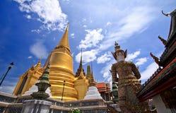 Wat Pra Kaew 免版税库存图片
