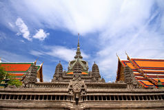 Wat Pra Kaew Fotografia de Stock Royalty Free