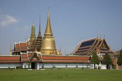 Wat Pra Kaew, Bangkok, Tailandia Immagini Stock Libere da Diritti