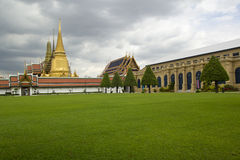 Wat pra kaew Grand palace. Bangkok Thailand Royalty Free Stock Images