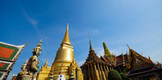 Wat pra kaew Grand palace bangkok Royalty Free Stock Image